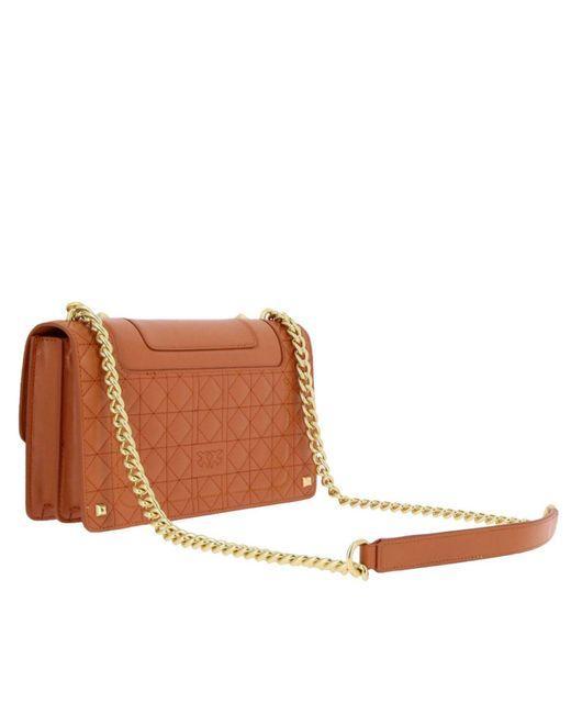 f6282a1dc5c ... Pinko - Brown Crossbody Bags Shoulder Bag Women - Lyst ...