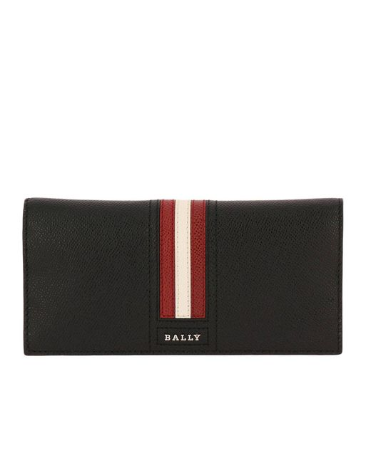 Bally - Black Wallet Men for Men - Lyst