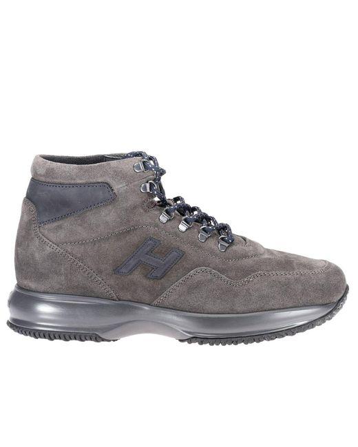 Hogan - Gray Sneakers Shoes Men for Men - Lyst
