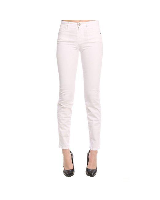 Jeckerson - White Pants Women - Lyst