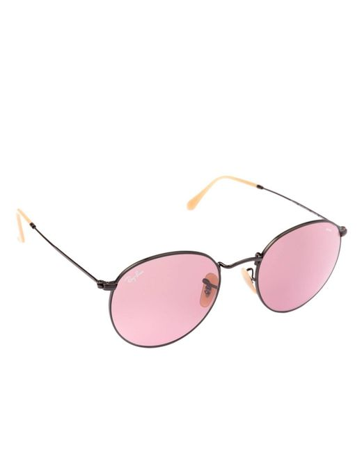 3ac345781a0e5 Ray-Ban - Pink Sunglasses Women - Lyst ...