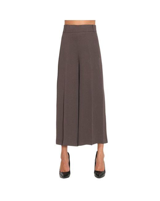 Maliparmi   Brown Pants Women   Lyst
