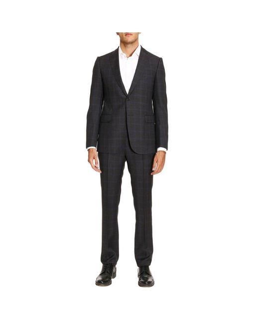Armani | Gray Suit Men for Men | Lyst