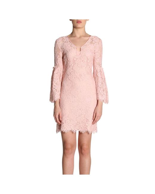 Pinko - Pink Dress Women - Lyst