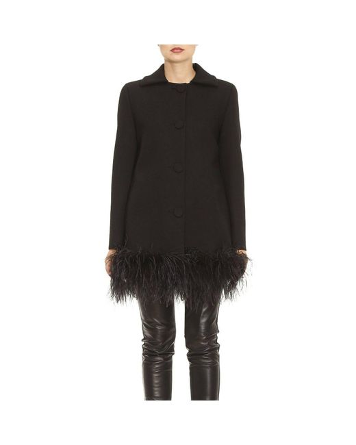 Boutique Moschino   Black Coat Women   Lyst
