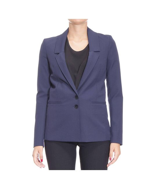 Patrizia Pepe | Blue Blazer Suit Jacket Woman | Lyst