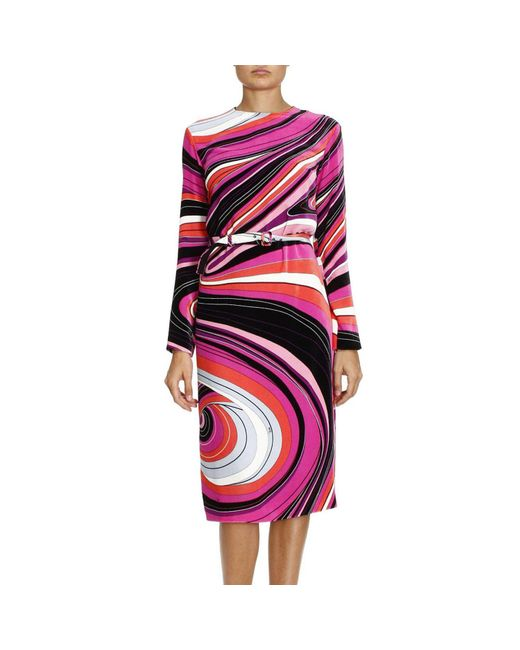 Emilio Pucci - Multicolor Dress Women - Lyst