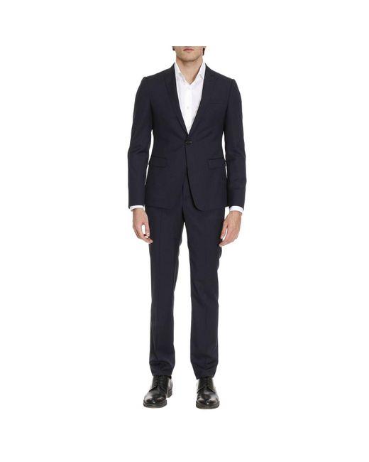 Emporio Armani - Blue Suits Men for Men - Lyst