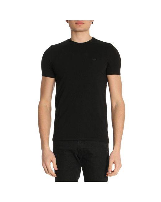 Lyst Emporio Armani T Shirt Men In Black For Men