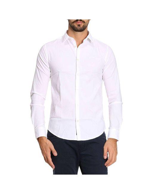 Armani Jeans | White Shirt Men for Men | Lyst