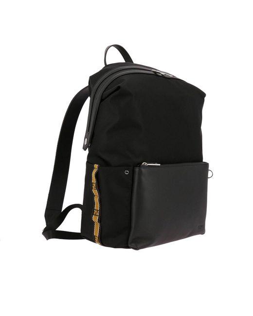 871a0b066b56 ... Fendi - Black Backpack Bags Men for Men - Lyst ...