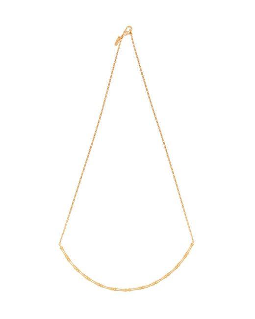 Vanessa Mooney - Metallic Fillmore Bamboo Pendant Necklace - Lyst