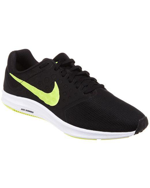 845fabd546e9 Nike - Black Downshifter 7 Running Shoe for Men - Lyst ...
