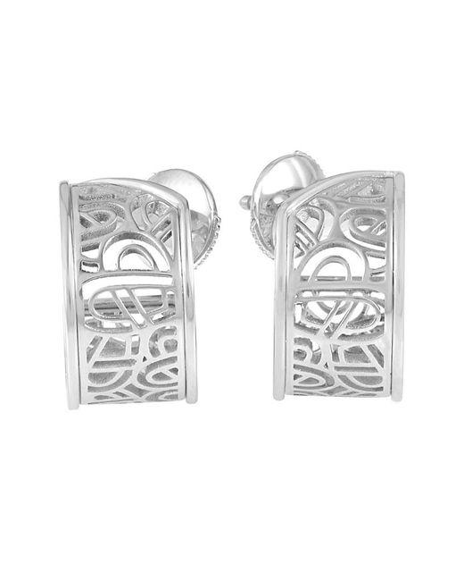 Poiray Metallic 18k Drop Earrings