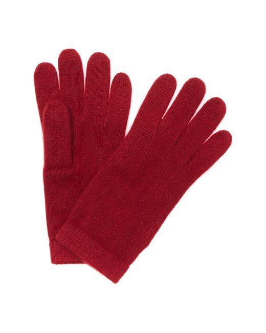 Portolano Red Women's Cashmere Gloves