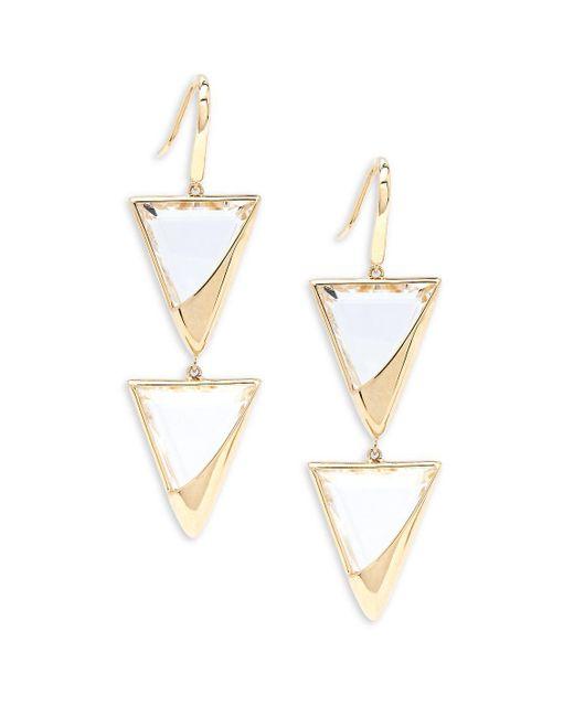 Lana Jewelry - Metallic 14k Yellow Gold Earrings - Lyst