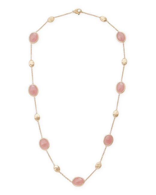Marco Bicego - Pink Pearl Necklace - Lyst