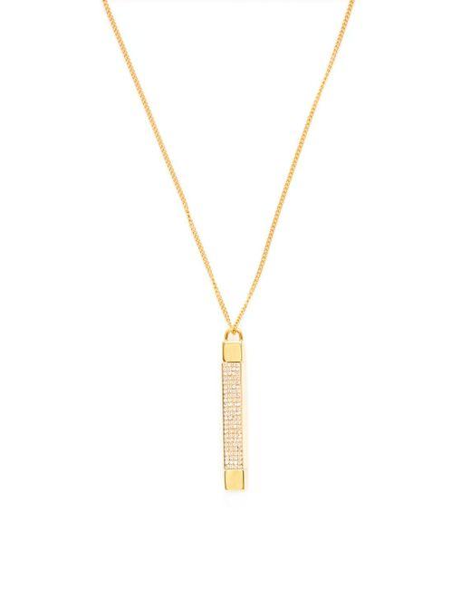 Vita Fede | Metallic Mia Quadra Vertical Pendant Necklace | Lyst