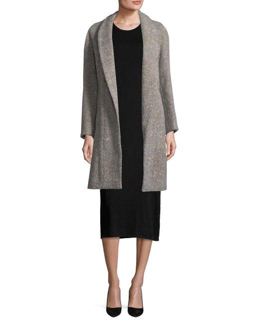 IRO - Gray Valie Coat - Lyst