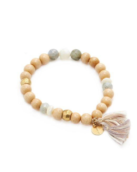 Chan Luu - Multicolor Cord & Stone Mix Friendship Bracelet - Lyst