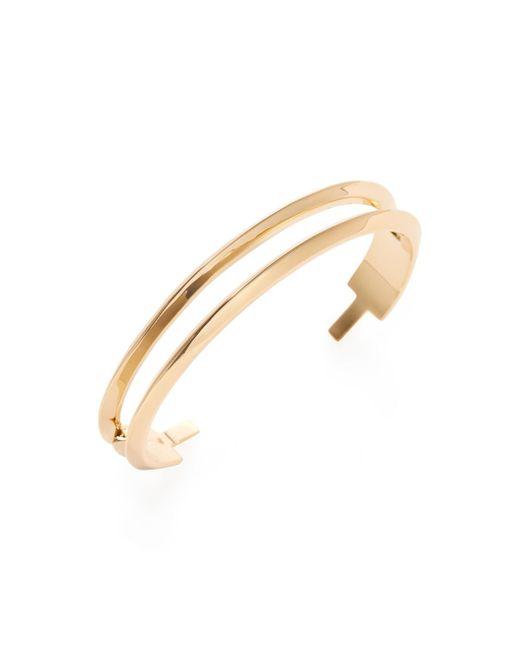 Eddie Borgo - Metallic Flash Bar Cuff Bracelet - Lyst