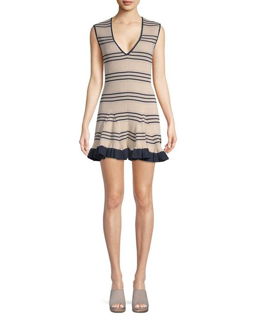 Alice McCALL Multicolor Frenchie Striped Dress