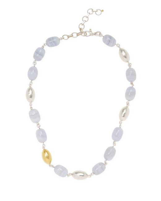 Gurhan - Metallic Limited Edition Cocoon Hue Agate Necklace - Lyst