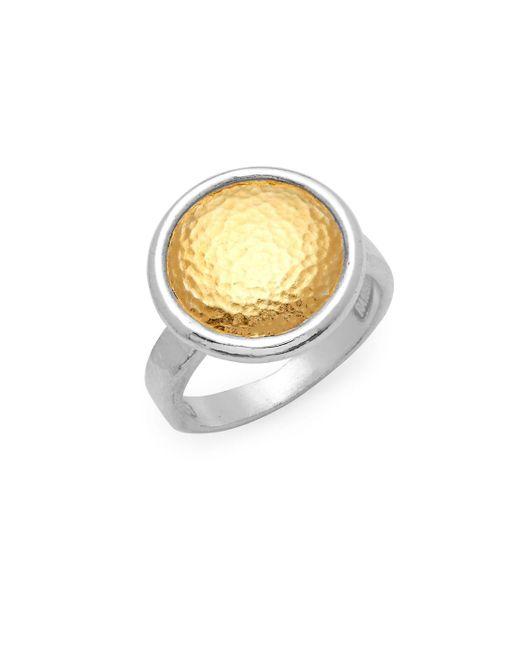 Gurhan - Metallic Sterling Silver Textured Ring - Lyst