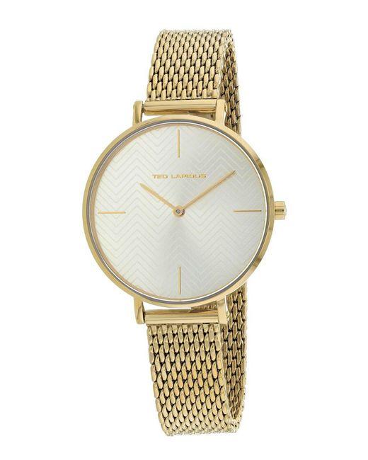 Ted Lapidus - Metallic Women's Classic Watch - Lyst