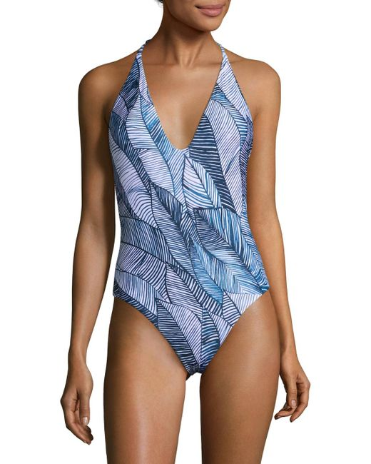 Onia - Blue Nina One-piece Swimsuit - Lyst