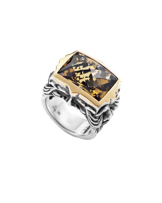 Stephen Webster - Metallic 18k & Silver Gemstone Ring - Lyst