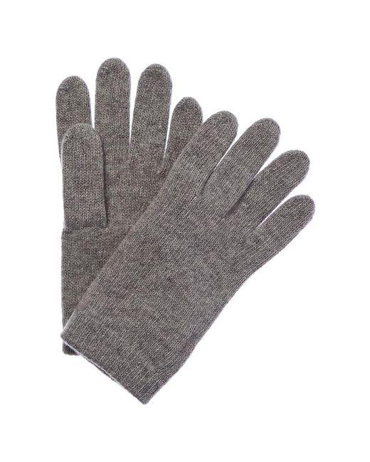 Portolano Gray Cashmere Gloves