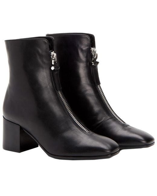 Aquatalia - Black Camden Waterproof Leather Bootie - Lyst