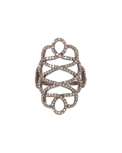 Adornia - Metallic Fine Jewelry Silver 1.40 Ct. Tw. Diamond Ring - Lyst