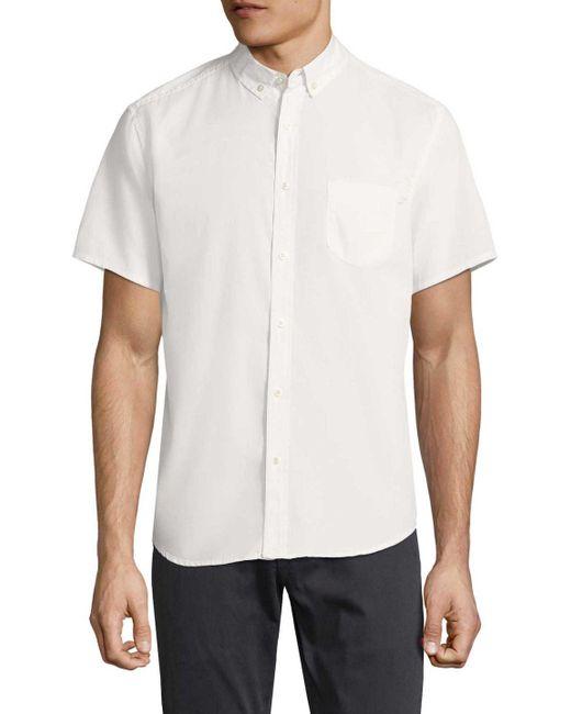 Life After Denim - White Silverlake Cotton Sportshirt for Men - Lyst