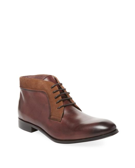 Marco Vittorio - Brown Leather Chukka Boot for Men - Lyst