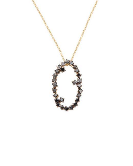 Suzanne Kalan - Metallic 14k 0.33 Ct. Tw. Diamond Starburst Floating Necklace - Lyst