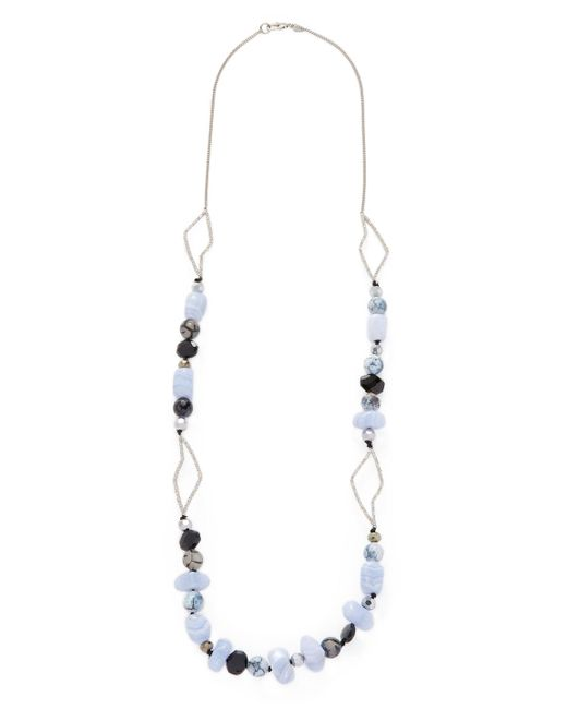Alexis Bittar - Blue Elements Abstract Petal Strand Statement Necklace - Lyst