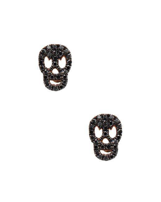 CR By Casa Reale | Multicolor Skull Stud Earrings | Lyst