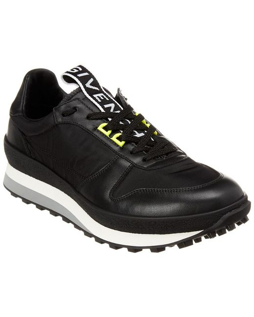 Sneaker For Givenchy In Leather Black Lyst Tr3 Men Runner 0zqnwRpI