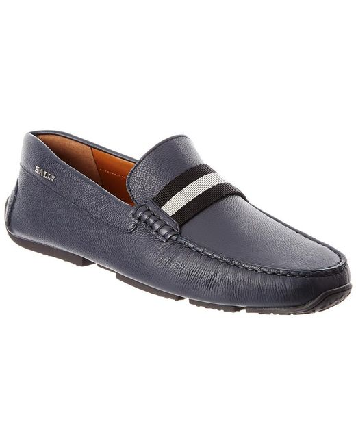 1d9dddfeb06 Lyst - Bally Pearce Leather Driver in Blue for Men - Save 25%