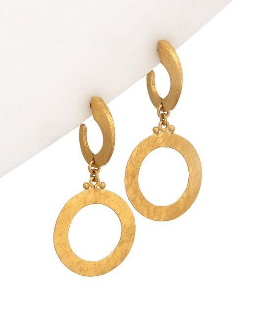 Gurhan - Metallic Mango 24k Drop Earrings - Lyst