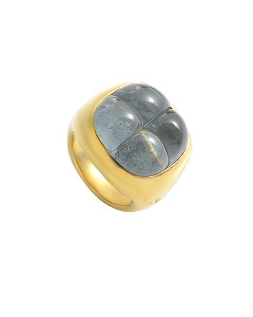 Pomellato - Metallic 18k Aquamarine Ring - Lyst