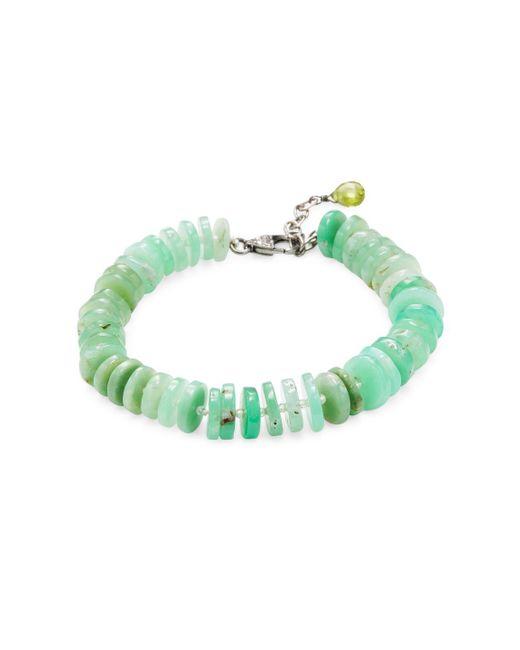 Bavna | Multicolor Chrysoprase & Topaz Stud Bracelet | Lyst