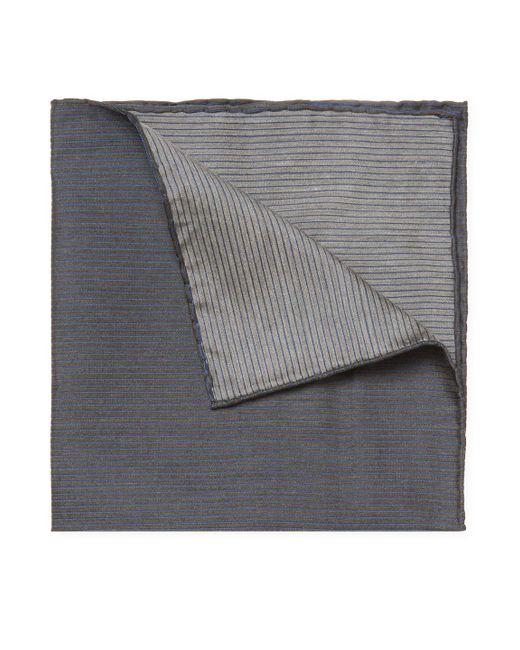 John Varvatos | Blue Denim Pocket Square for Men | Lyst