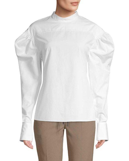 Camilla & Marc - White Colbert Shirt - Lyst