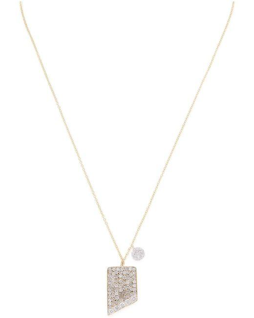 Meira T - Metallic 14k .44 Ct. Tw. Diamond Necklace - Lyst