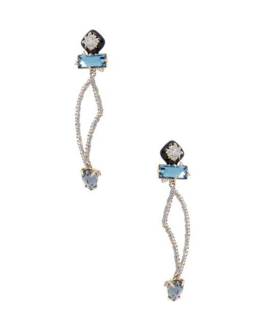 Alexis Bittar - Blue Elements Abstract Petal Drop Earrings - Lyst