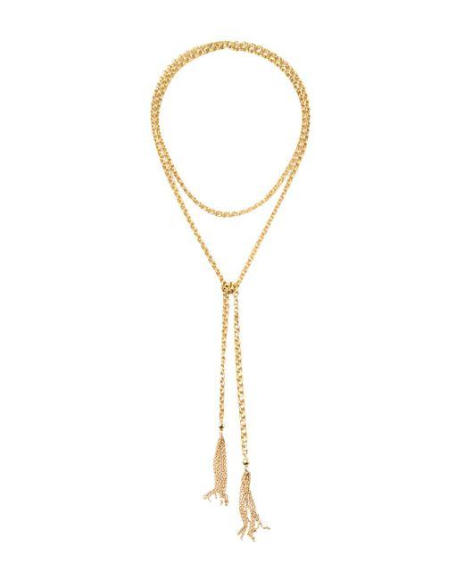 Soko - Metallic Zuri Lariat Necklace - Lyst