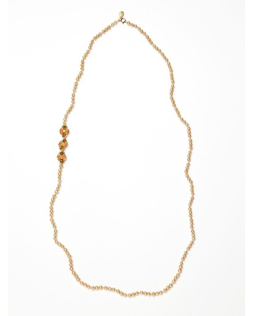 Miguel Ases - Multicolor Freshwater Pearl Necklace - Lyst